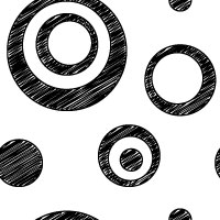white black scribble dot background pattern tile